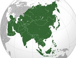 Azija lokacija