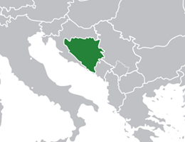 Bosna lokacija