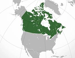 Kanada lokacija