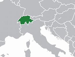 Švica lokacija
