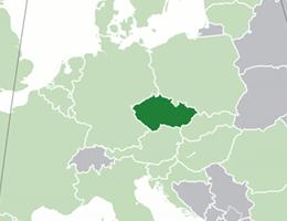 Češka lokacija