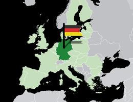 Nemčija lokacija