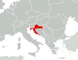 Hrvaška lokacija