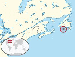 Otočje Saint Pierre in Miquelon