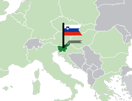 Slovenija lokacija