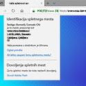 Prikaz SSL certifikata v brskalniku Microsoft Edge