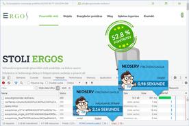 Ergonomske-resitve.eu - DevTools po prenosu
