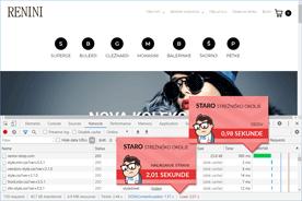 Renini-Shop.com - DevTools pred prenosom