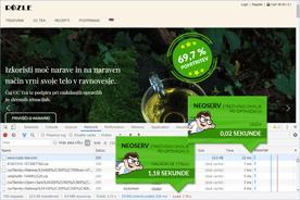 Rozle-tea.com - DevTools po optimizaciji