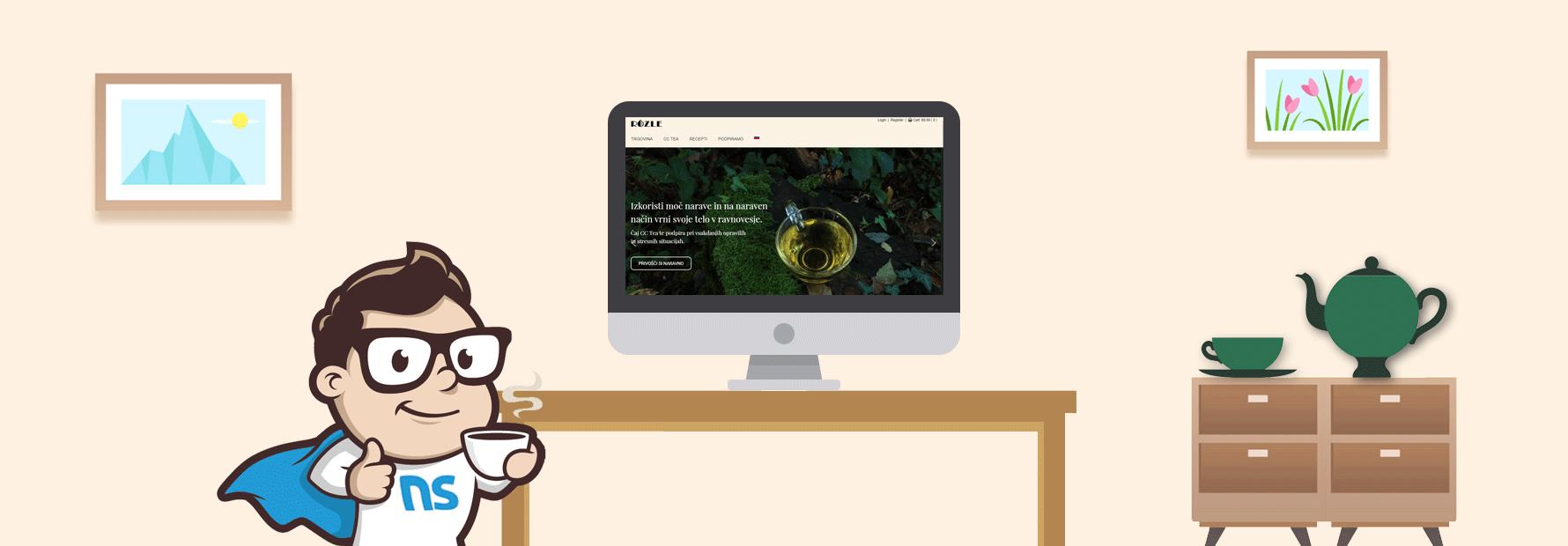 Rozle-tea.com
